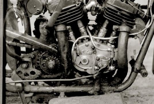 Mabeco Motor – vorher