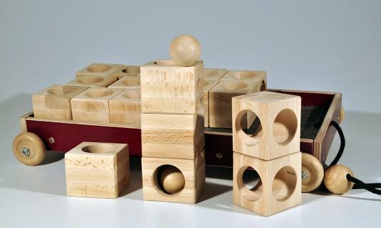 Bauklötzer aus Restholz