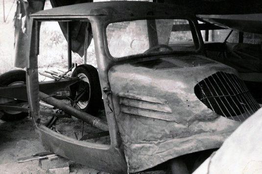 Tempo Dreirad 1938 – vorher